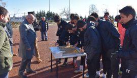 Başkan Eşkinat'tan Tekirdağsporlu futbolculara baklava dopingi