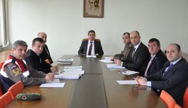 Keşan İlçe Trafik Komisyonu Toplandı…