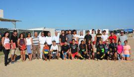 Rüzgarın Çocukları Projesi'nde Cankurtaran Eğitimini Tamamlayanlara Sertifikaları Verildi.