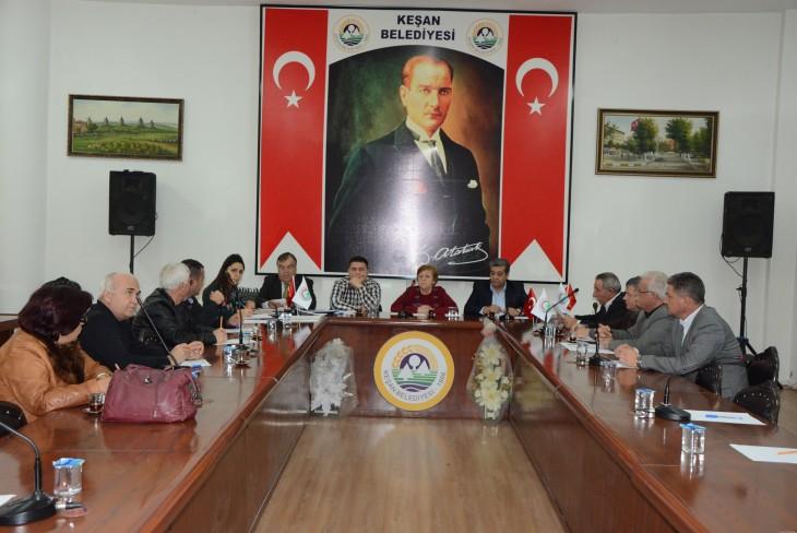 ESTAB Meclis toplantısı yapıldı