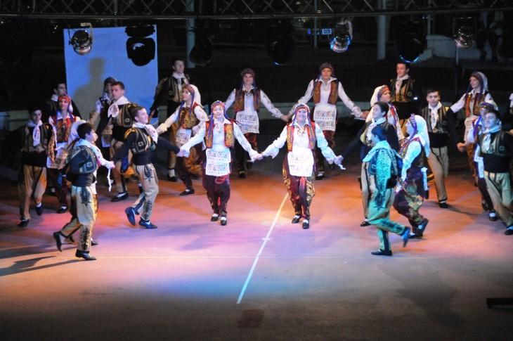 Süleymanpaşa Halk Oyunları ekibi Eskişehir'de