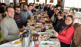 Başkan Özcan, Keşanlı basın mensuplarıyla kahvaltıda bir araya geldi
