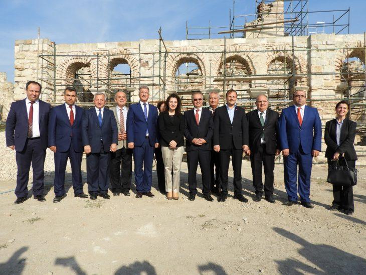 Başbakan Yardımcısı Hakan Çavuşoğlu Enez'i ziyaret etti.
