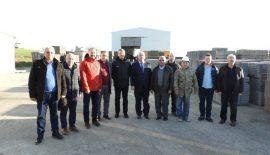 Ergene Belediye Başkanı Rasim Yüksel Enez'i ziyaret etti