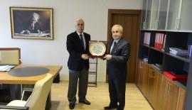 IRCICA Başkanı Eren'den Vali Şahin'e Ziyaret