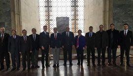 CHP Edirne Heyetinden Anıtkabire Ziyaret…