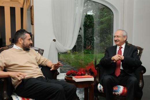 Kılıçdaroğlu'ndan Soner Yalçın'a ziyaret