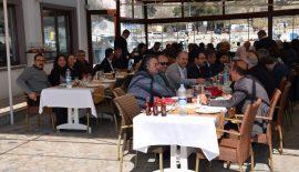 ÖZACAR'DAN ÇOMÜ SENATOSUNA ÖĞLE YEMEĞİ