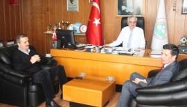 CHP Edirne 1.Sıra adayı Gaytancıoğlu'ndan Başkan Özcan'a ziyaret (Videolu Haber)