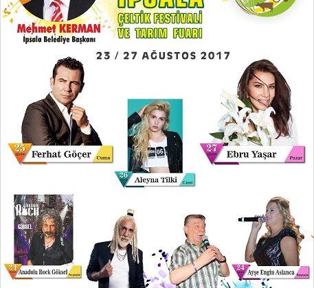 İpsala Festivali 23 Ağustos'ta Başlayacak.
