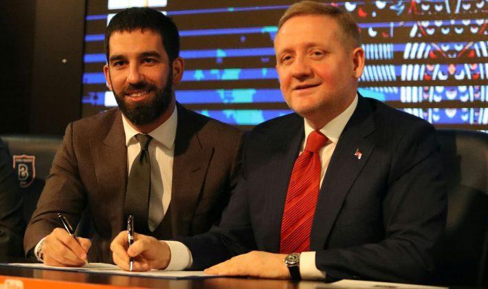 Arda Turan, Başakşehir ile Sözleşme İmzaladı…