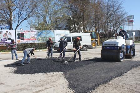 Keşan Belediyesi asfalt çalışmalarına başladı…