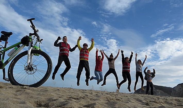 Sardoslu Bisikletçiler Karadenize indi…