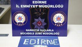 Edirne'de Uyuşturucu Operasyonu…