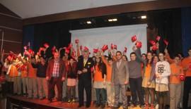 Bülent Türker  Keşanlı öğrencilerle buluştu (Videolu Haber)