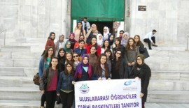 Uluslararası Öğrenciler Tarihi Başkentleri Tanıyor