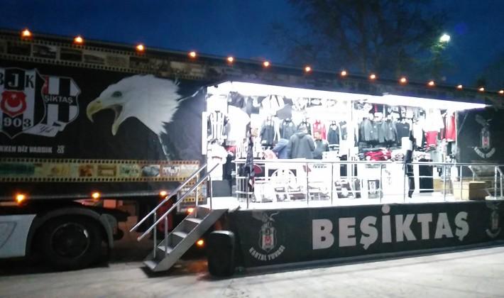 Beşiktaş Tırı Keşan'da (Videolu Haber)