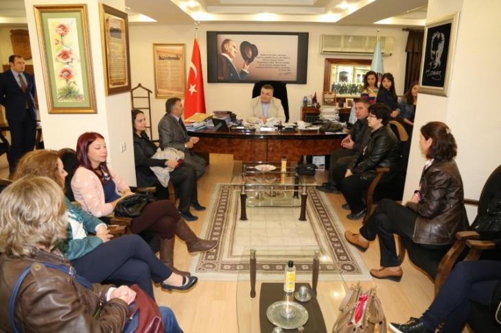 Kardeş Okullardan Kesimoğlu'na Ziyaret