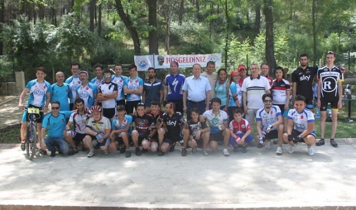 Keşan Belediyesi 2. Dağ Bisikleti  Yarışı, çekişmeli ve zevkli geçti