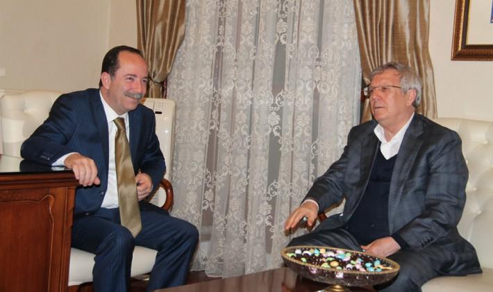 Fenerbahçe Başkanından Gürkan'a ziyaret