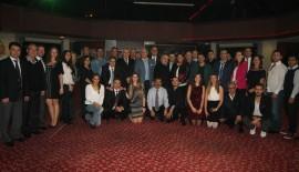 Edirne Belediyesi Halk Oyunları Antrenörleri için Dayanışma Yemeği verdi.