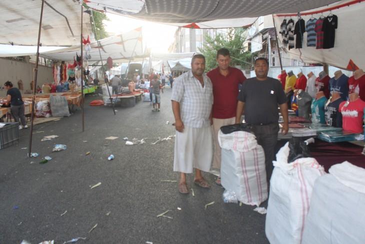 Pazaryeri esnafından asfalt için Özcan'a teşekkür