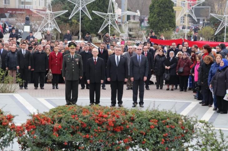 Atatürk'ün Kırklareli'ne Gelişinin 84. Yıl Dönümü Kutlandı