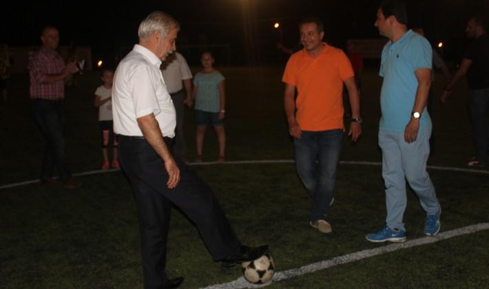Dostluk Kupası Futbol Turnuvası başladı