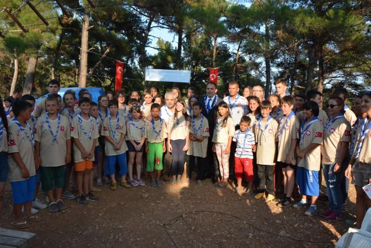 Keşan Belediyesi Yaz Kampı'nda yemin töreni heyecanı…