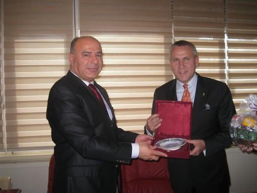 Macaristan Başkonsolosundan Edirne Valiliği'ne ziyaret