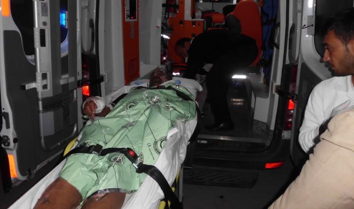 Enez'de şofben tüpü patladı 4 yaralı.