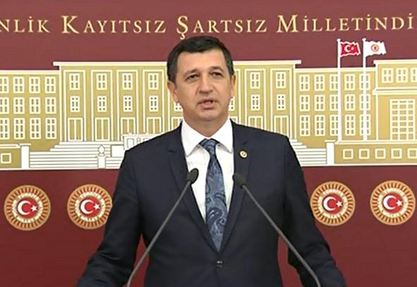 Gaytancıoğlu, Hükümlü Taşeronlarla İlgili TBMM'de Konuştu.