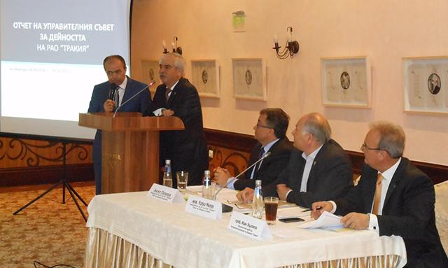 Trakyakent Bulgaristan'da Ram Trakya Birliği'nin Genel Kurulu'na katıldı…