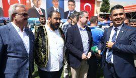 Kırkpınar Ağası Çetin Gençlik ve Spor Bakanı Osman Aşkın Bak ile görüştü