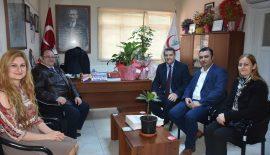 Yurdakul'dan Başhekim Serhat Göçer'e Ziyaret…