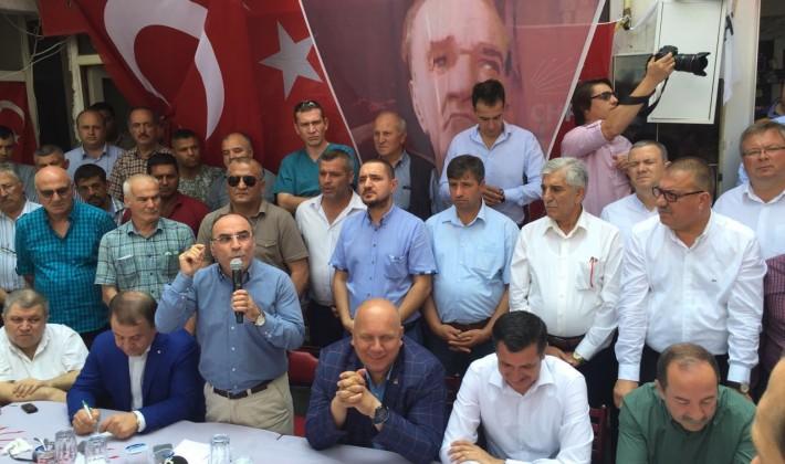 Bircan'dan, Gürkan'a Tam Destek…