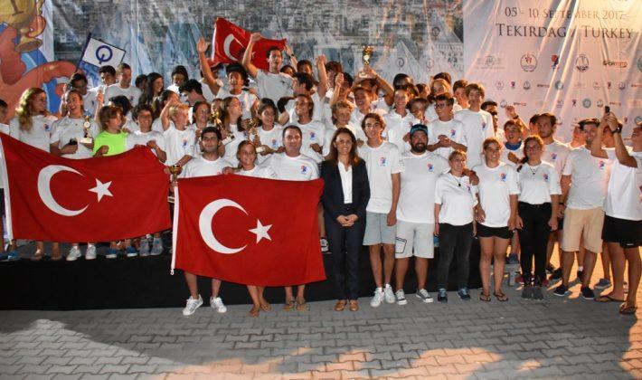 50. Balkan Yelken Şampiyonası kapanış töreni ile sona erdi