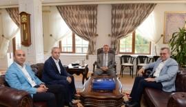 Vali Özdemir'e Ziyaretler Devam Ediyor…