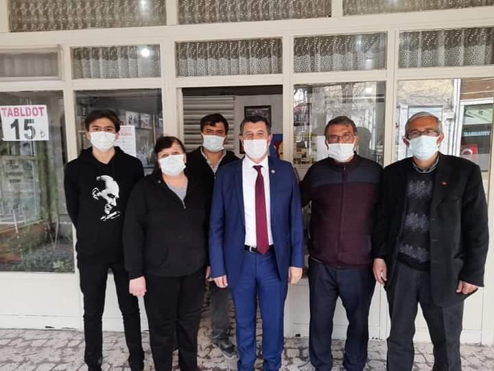 CHP Milletvekili Okan Gaytancıoğlu ve Recep Pekcan'dan Keşan çıkarması