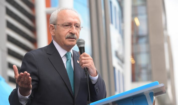 Kılıçdaroğlu Beşiktaş Belediyesi'ni Ziyaret Etti…