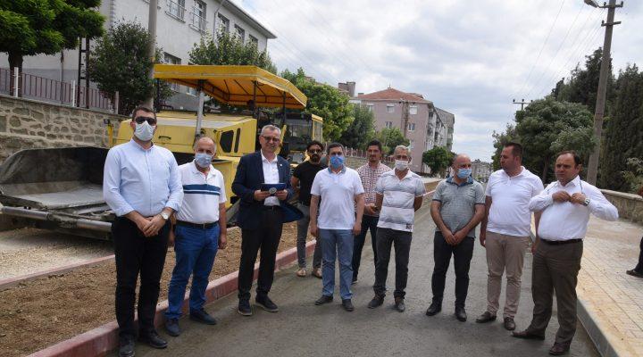 Helvacıoğlu: Muhtar Ali Çevikel Caddemiz  Keşan'ımızın aydınlık yüzü olacak
