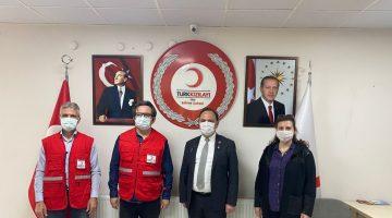 Keşan Belediyesi'nden Türk Kızılayı Edirne Şubesi'ne ziyaret