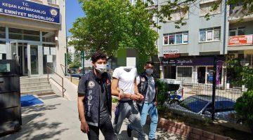Eroin ile yakalanan kişi tutuklandı