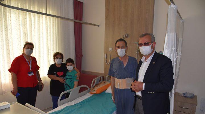 Keşan Belediyesi'nin destek olduğu Mehmet Evren felç olmaktan kurtuldu
