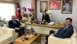 Helvacıoğlu'ndan AK Parti ve MHP il başkanlıklarına ziyaret