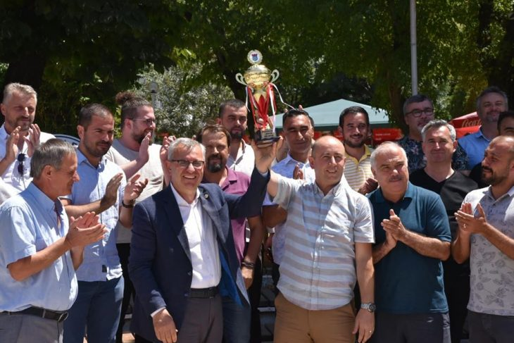 Keşan İdmanyurdu Kupası'na Kavuştu