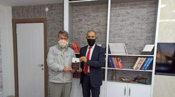 Yerel Basın Birliği Edirne Şube Başkanı Erdoğan Demir'den Erol Okutucu'ya ziyaret