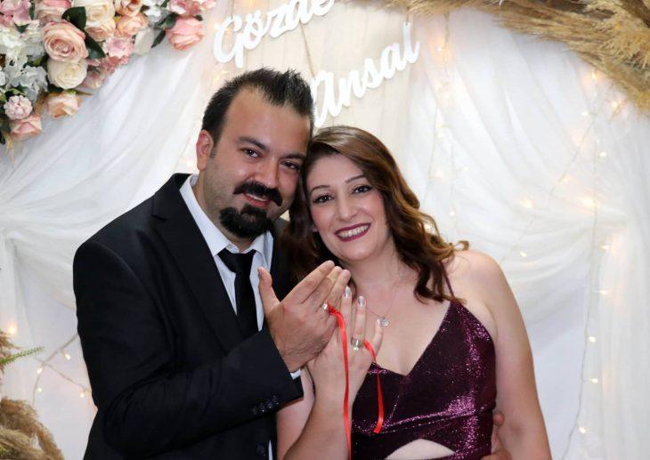 Ünsal Yücel nişanlandı