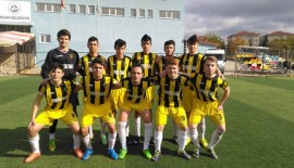 Anafartalarspor U17 Saraçhanespor'u 3-1'le geçti…