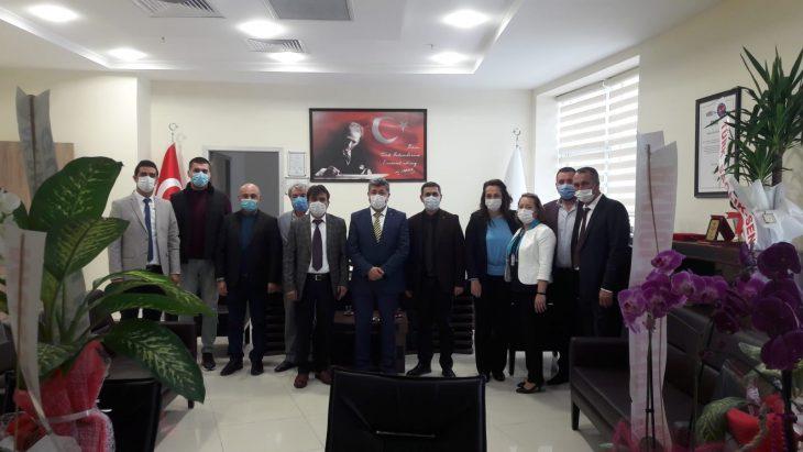 AK Parti Keşan İlçe Yönetimi'nden Keşan Devlet Hastanesi'ne ziyaret